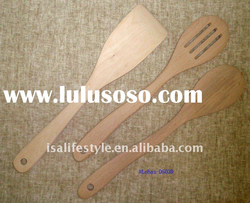 Lohas natural wooden cooking utensil No. DS039