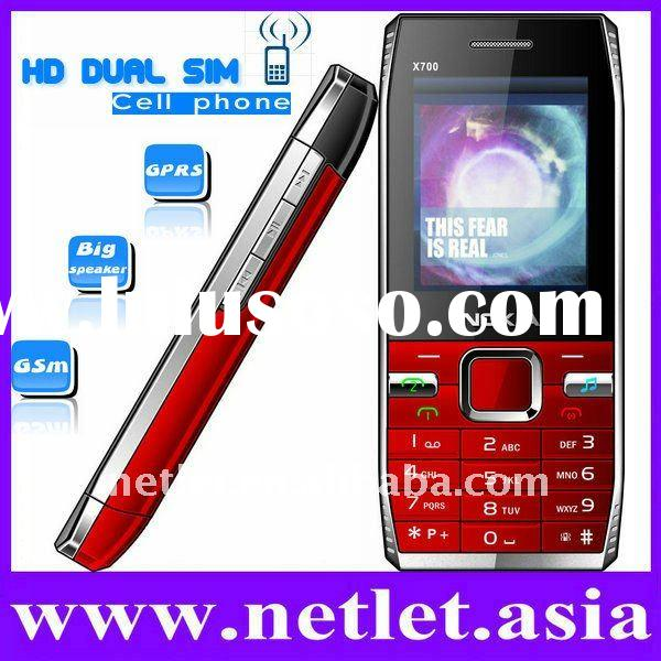 Metal Shell Dual SIM Mobile Phone
