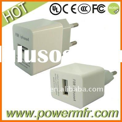 USB travel charger For iphone4
