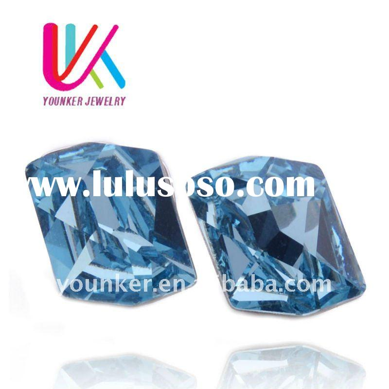Wholesale & Retail! Austria Crystal fashion earrings,925 Silver Stud earrings