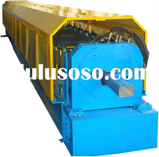 pipe roll forming machine capable of producing down pipes with any length.2.Good appearance: the col