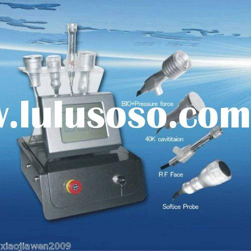 2011 New Vacuum BIO + Ultrasonic Liposuction Cavitation + Bipolar RF + Cooling Sliming Machine Touch