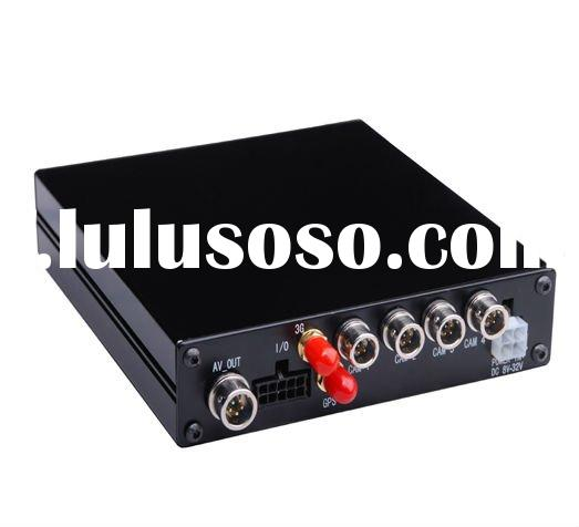 4ch SD card bus DVR with 3G GPS function