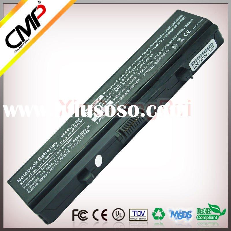 CMP Replacement Laptop Battery 312-0634	 312-0763 312-0844 for Dell Inspiron 1525 1526 1545 1546