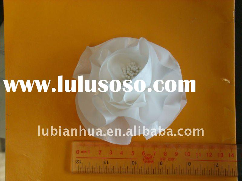 Decorated artificial flower
