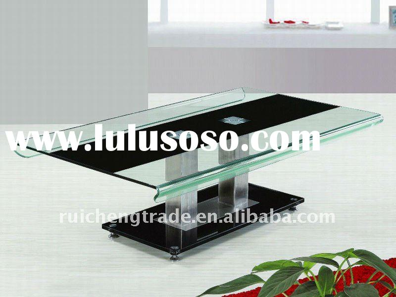 Modern / Elegant glass coffee  table  living room furniture