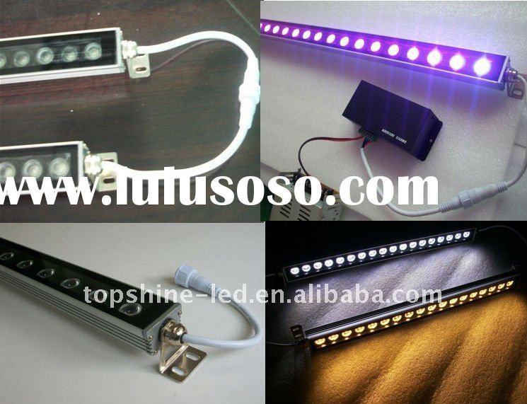 Ultra-thin Single Row  RGB LED Wall Washer 36*1/18*1/12*3W with DMX
