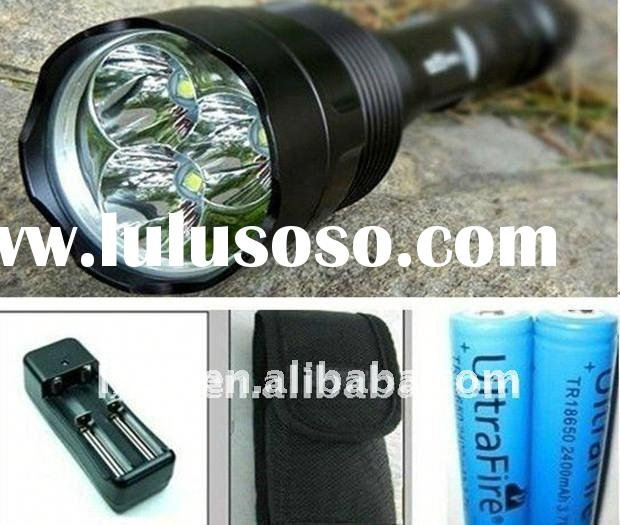 cree torch TrustFire 2800 lumens CREE LED Flashlight 3*T6 sets LED TORCH