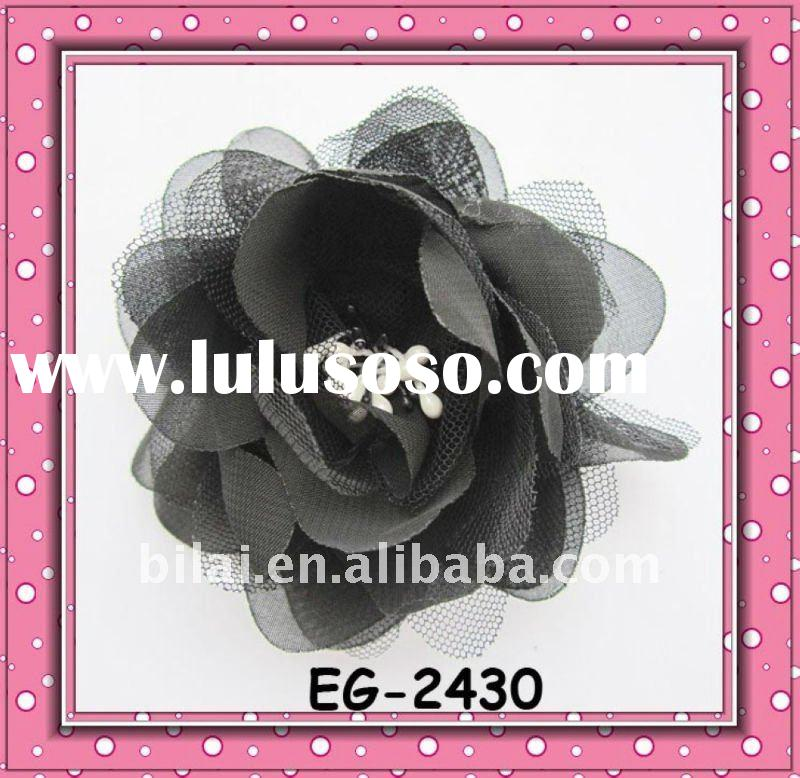 designer hair accessories camellia flower handmade headbands/brooch/hairpins  EG-2430