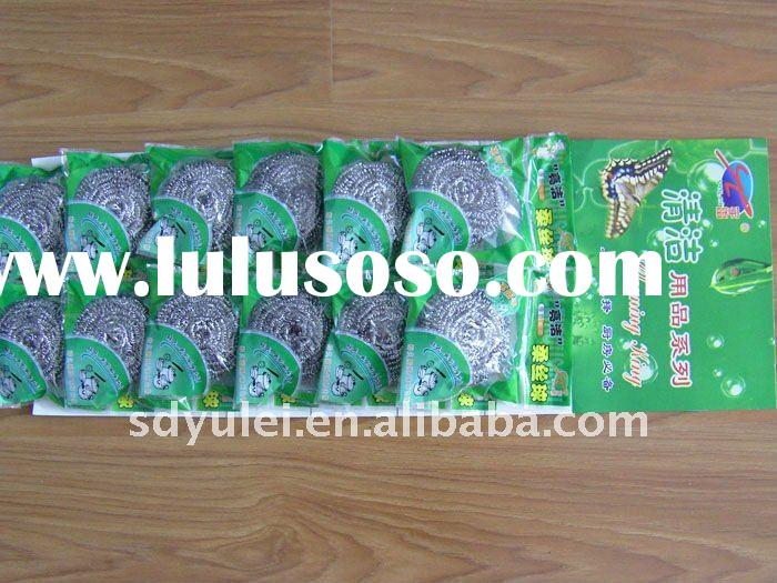 stainless steel wire scourer for kitchen use