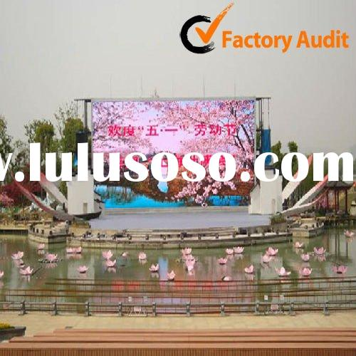 P10 High Brightness Outdoor Stage Led Video Display