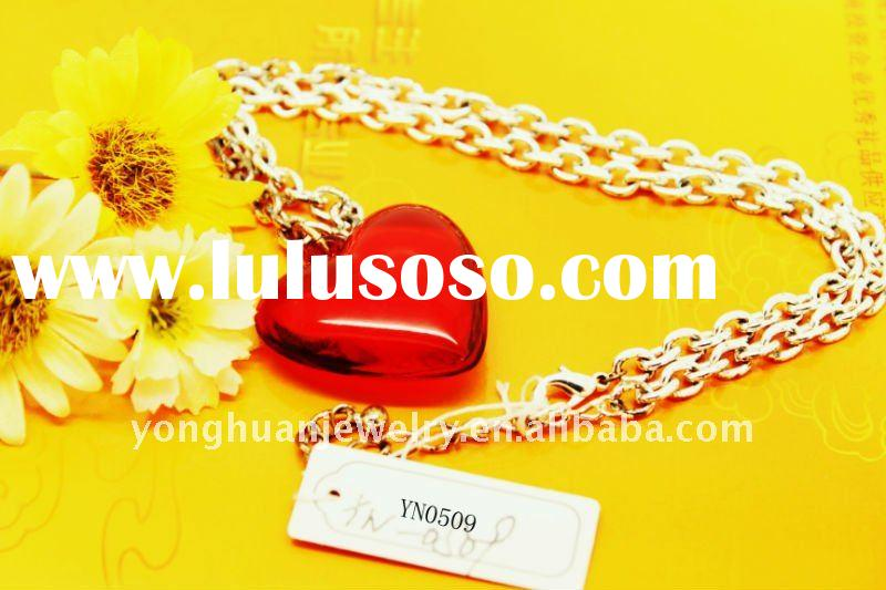 fashion heart of ocean zinc alloy necklace