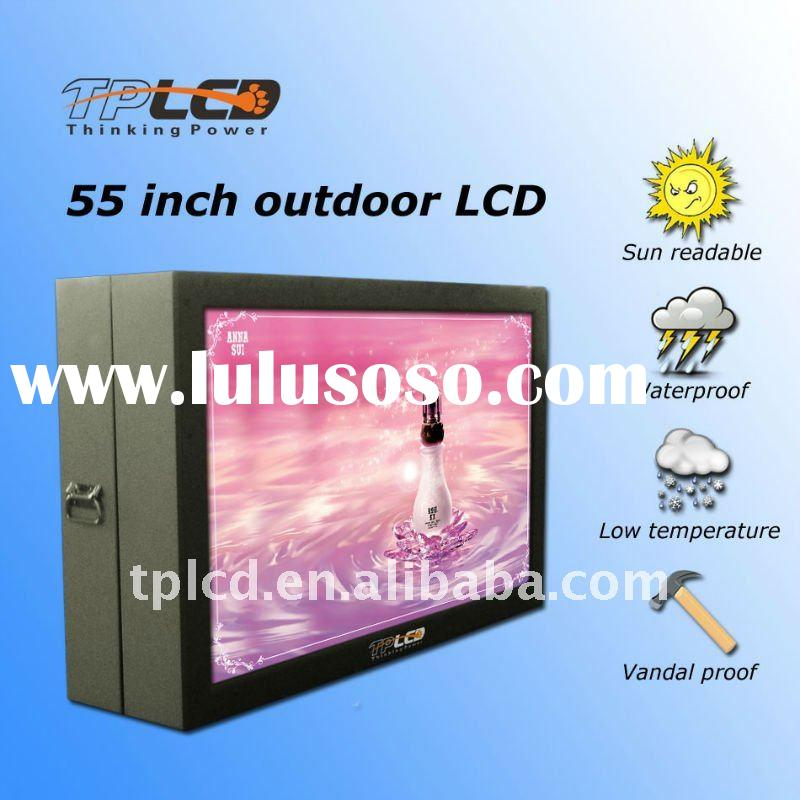 55'' Outdoor advertising LCD player wall mounted