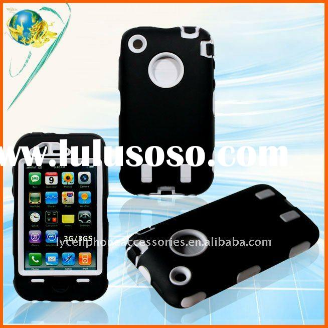 Black defender case for iphone 3G(LY-A08)