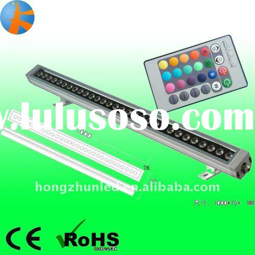 12w 15w 18w 24w 36w led wall washer  with remote control