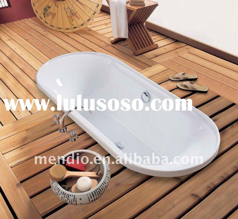 2011 new design simple modern acrylic bathtub BL175A