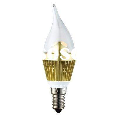 3W Dimmable LED Candle Bulb