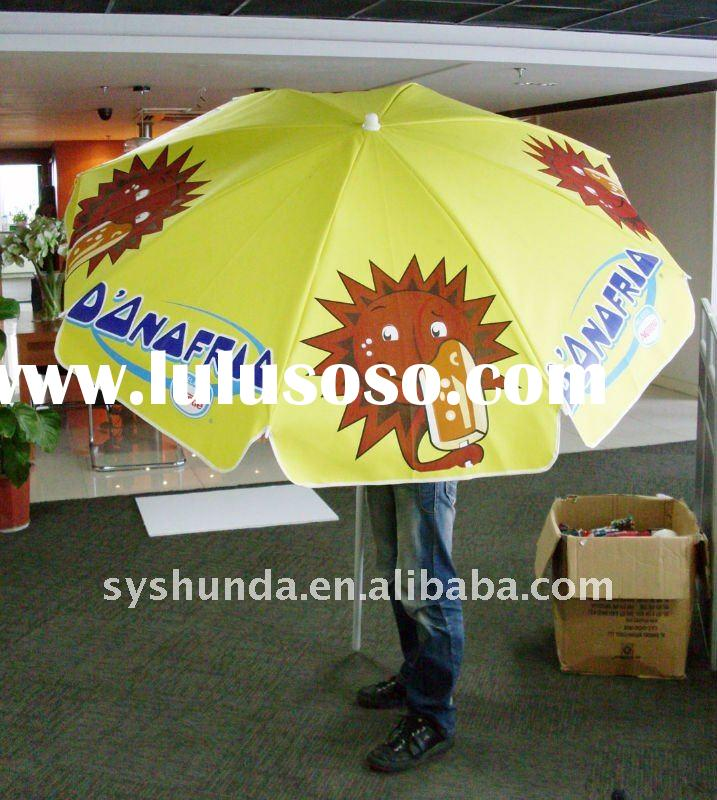 printing beach umbrella(for advertising promotion)