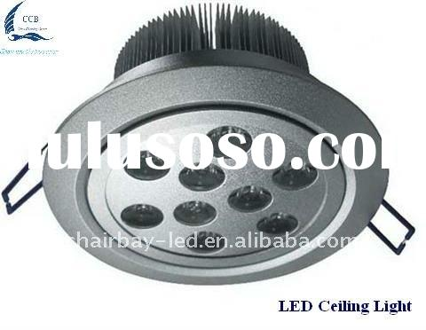 9w high power led ceiling light with 2 years guarantee