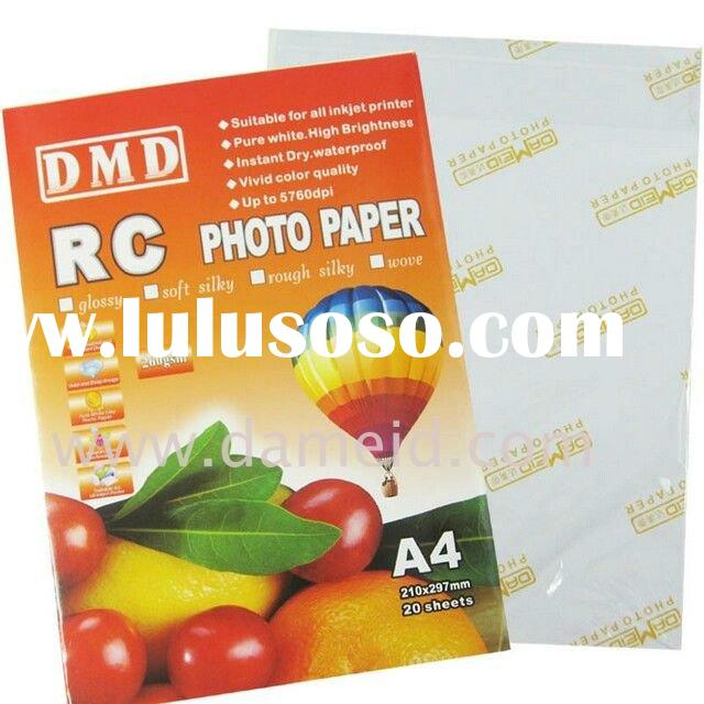 RC High Glossy Photo Paper
