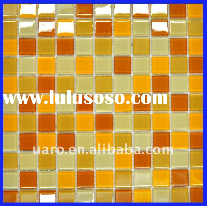 Miscellaneous decorative crystal glass mosaic tile
