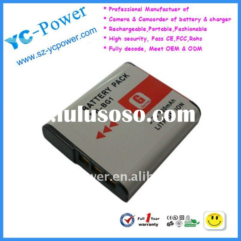 NEW! 100% decoded camera battery pack for Sony NP-BG1
