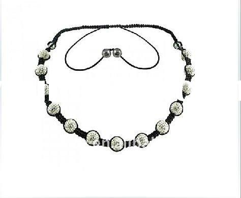 New Fashion Wholesale Handmade Shamballa Necklace