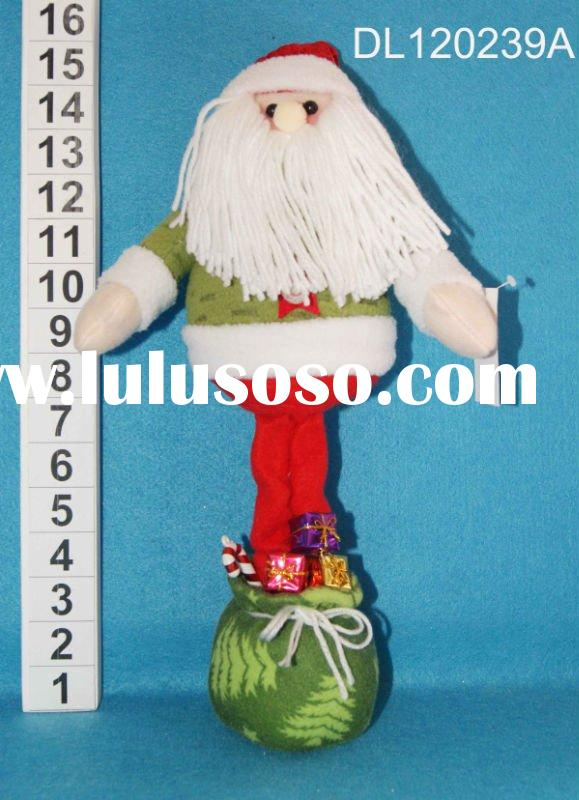 "15""  standing santa with led lights"