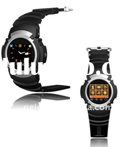 Bluetooth Watch Mobile Phone With 1.33 inch TFT Touch Screen