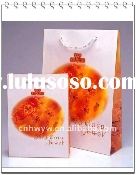 High quality promotion paper bag with recycled paper