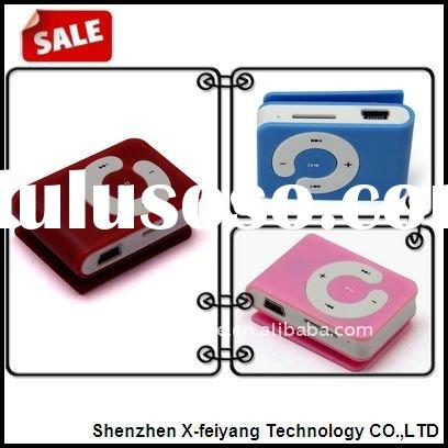 Manufactory Directly Selling Promotional Clip MP3