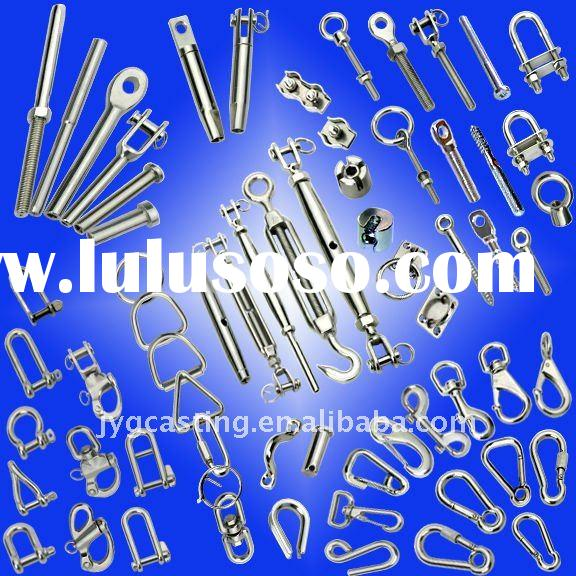 Marine Hardware,High Polished Stainless Steel - AISI 304,316