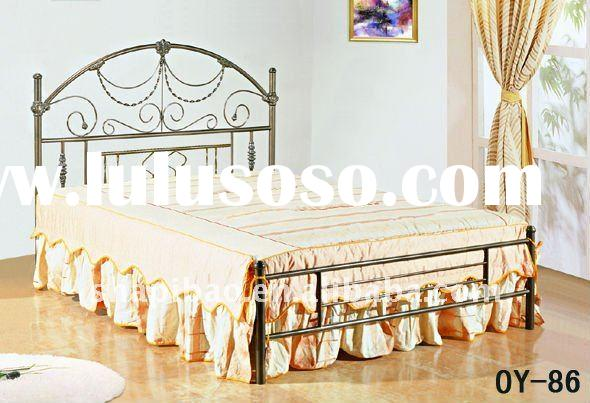 Modern/elegant single/double/queen/king  High quality Metal/Steel beds  home Furniture with competit