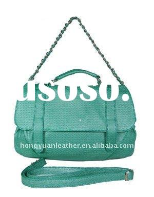 green shoulder bag women handbags 2012