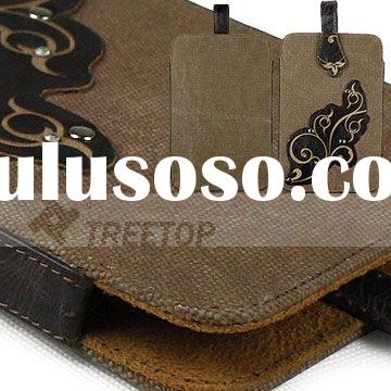 Genuine leather case for Kindle fire case--hot selling!!