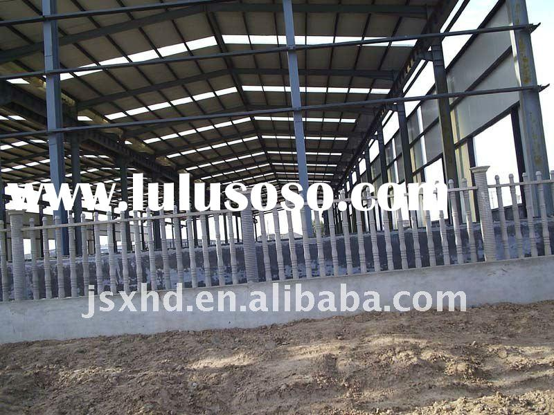 Light steel structure building with CE