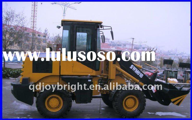 SWM618 front end wheeled loader,4WD,loading 1200kgs,EURO III Engine,CE prove