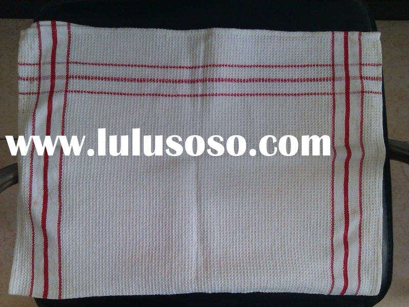 glass cloth with red stripe