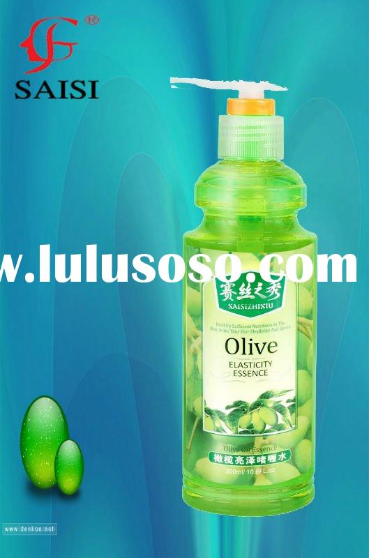 styling  and moisturizing olive essence hair gel