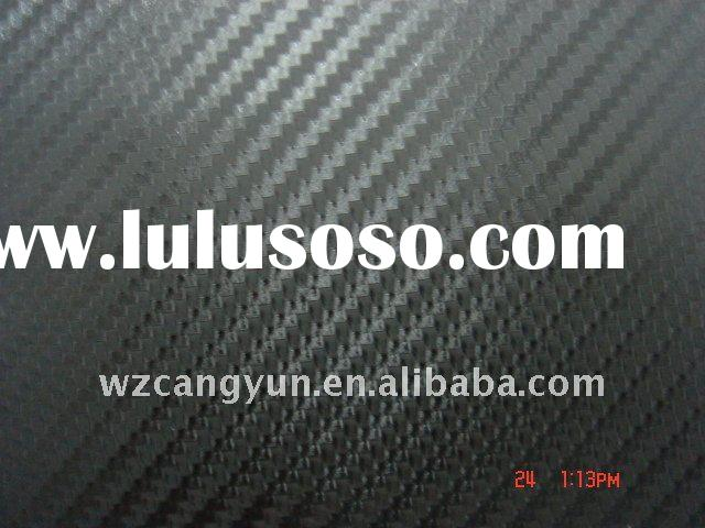 3D Carbon Fiber Vinyl Sticker/Car Sticker(with air free bubbles)