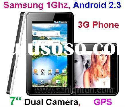 """7"""" Android 2.3 Tablet PC with GPS 3G phone"""