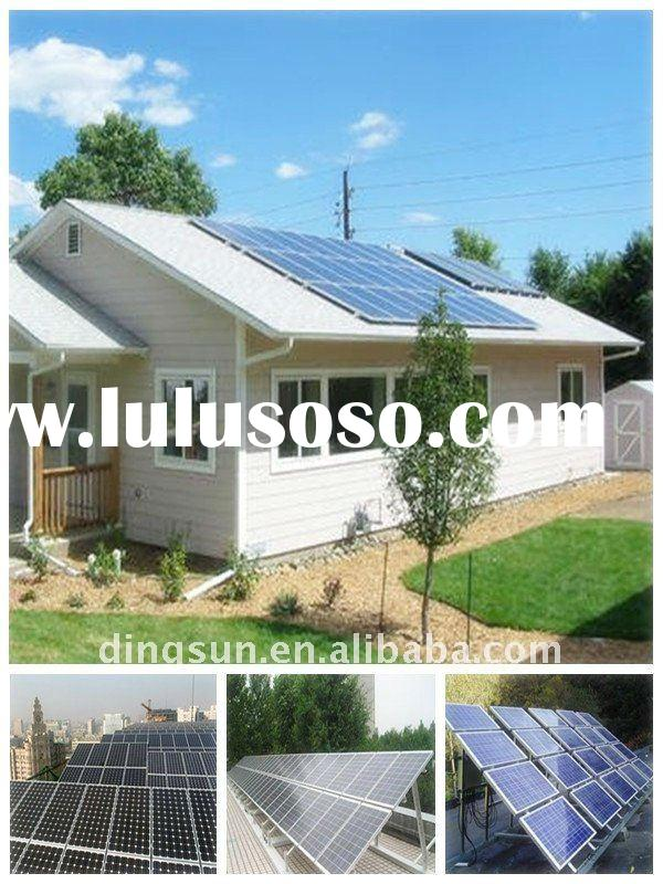 DingSun 290W Solar Panels For Home Use