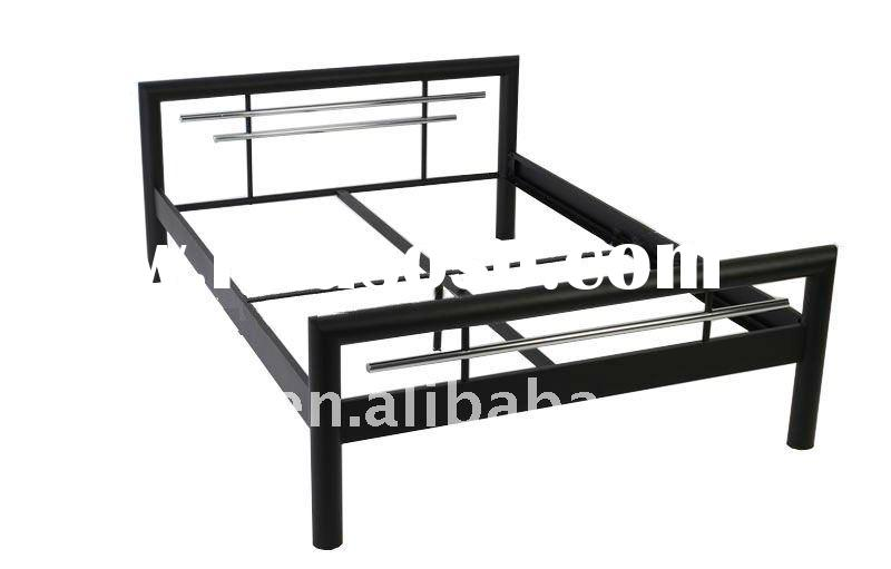 metal double bed frame for sale price china manufacturer supplier 873571. Black Bedroom Furniture Sets. Home Design Ideas