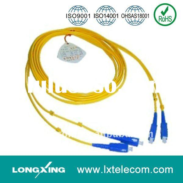 SC/ UPC Duplex Optical Fiber Patch Cord