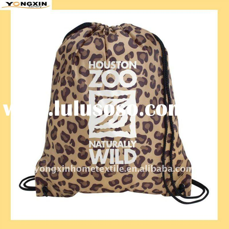 Unique design 210D polyester and reinforced corners drawstring bag(YXBCP-1110918)