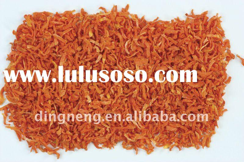 dehydrated carrot granule AD 2x2x10mm