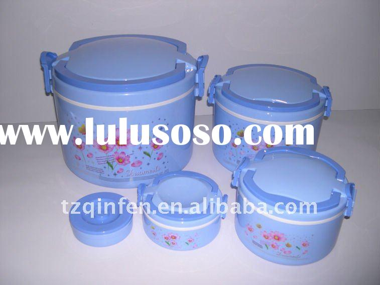 5pcs set insulated lunch box