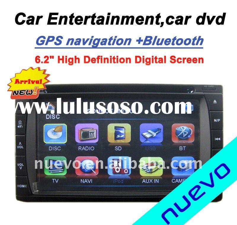 6.2 inch double din car DVD GPS player