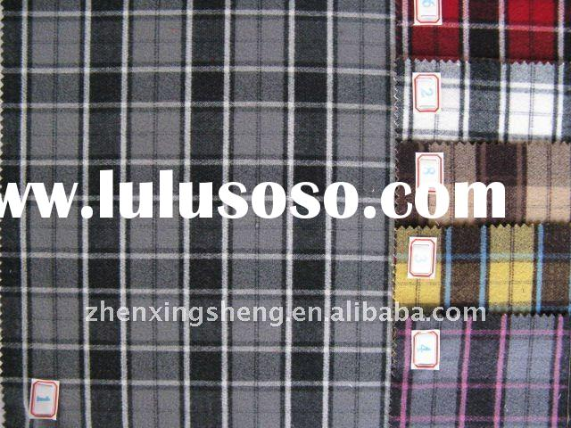 90678-T/R ladies' wear brushed plaid fabric