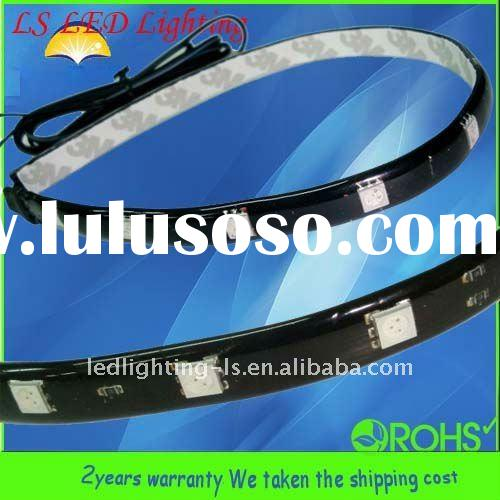 Black PCB 5050 60leds ultra bright led strip flexible